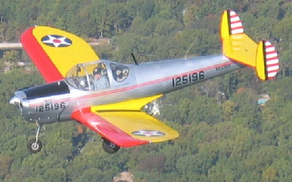 N93306 FIRST FLIGHT AFTER NEW PAINT JOB -- OVER SOUTH JERSEY -- OWNED BY FRANK HASSON AND SKIP RAWSON
